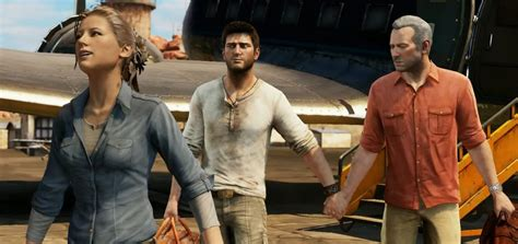 uncharted  rejected script shows
