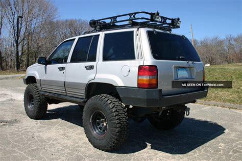 raised jeep grand cherokee 1996 jeep grand cherokee laredo lifted with atlas 2 off