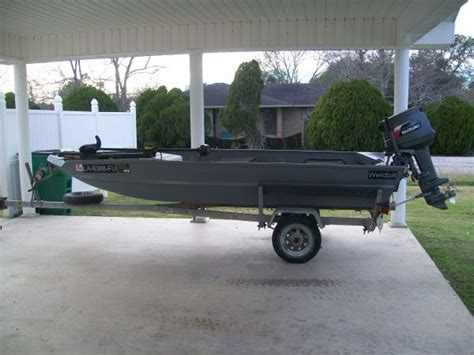 Weldbilt Boats For Sale In Louisiana by 1999 Weldbilt Flat Jon Boat For Sale In Southwest