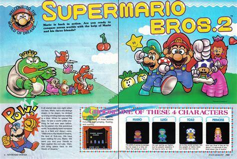 Super Mario Bros 2 In Nintendo Power Vol 1