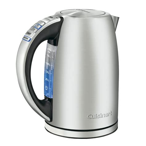 kettle electric cuisinart cordless cpk perfectemp kettles tea stainless steel water liter amazon quart brand chaleira rating heating power bestreviews