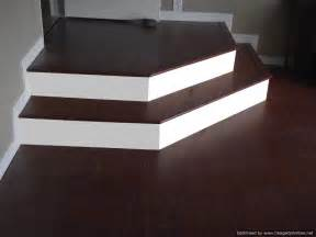 installing laminate on angled stairs
