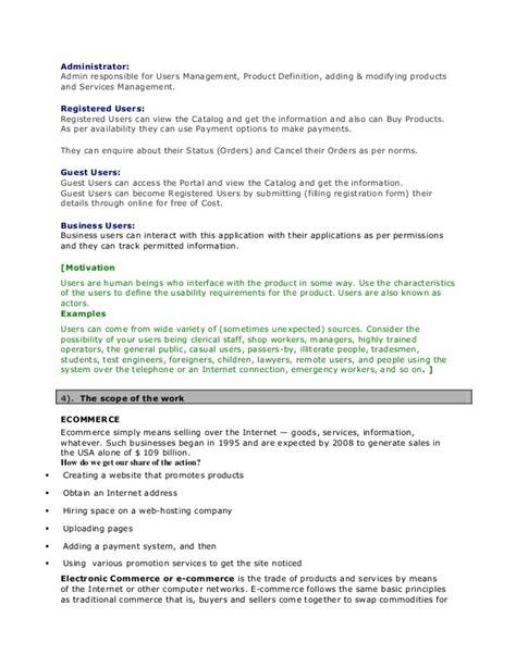 Fancy Business Specification Template Crest Wordpress