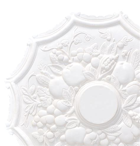 Small Plaster Ceiling Rose by Small Fruit Plaster Ceiling Rose 450mm