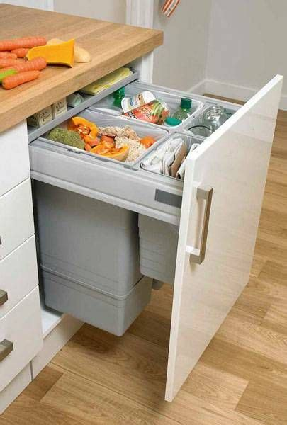 howdens kitchen accessories large integrated recycling bin waste management 1743