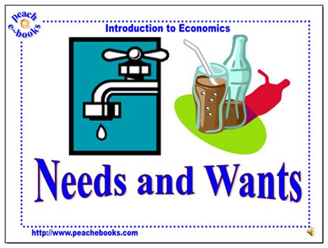 Wants Vs Needs Tellwutcom