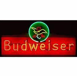 Budweiser Beer Neon Sign