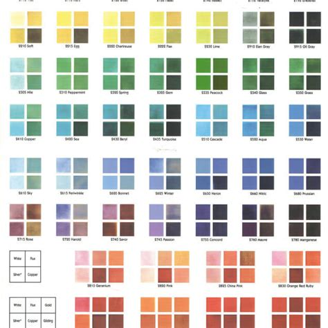 color chart olalapropxco
