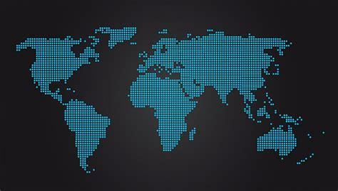Carte Du Monde Gratuite Vectorielle by Pointill 233 Carte Du Monde Au Format Vectoriel Pour Adobe