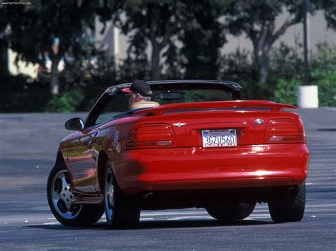 ford bronco ford mustang cobra indy pace car picture 02 of 02 rear