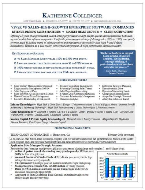 Senior Software Sales Executive Resume by Senior Vp Sales Software Colors Work If They Are Done Right So Do Call Out Boxes With