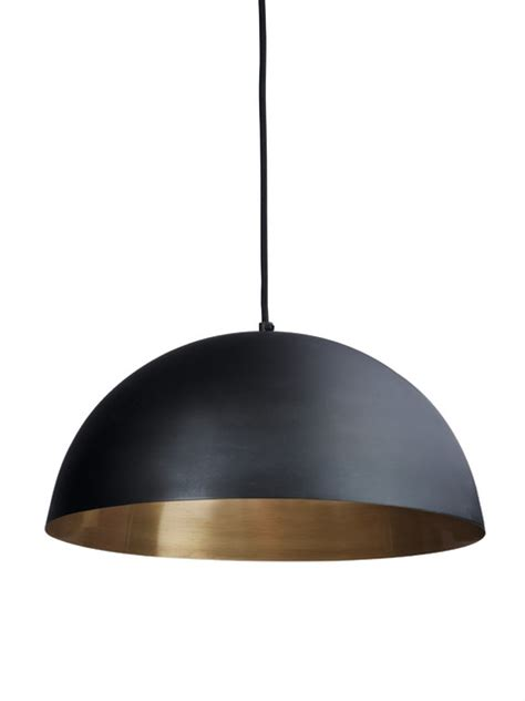 black gold pendant lightshade contemporary pendant