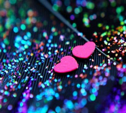 Glitter Wallpapers Heart Hearts Awesome Backgrounds Sparkle