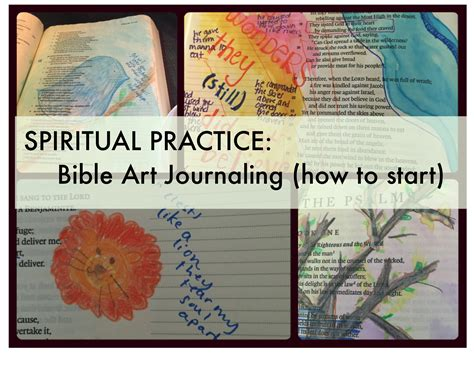 is journaling a word spiritual practice bible art journaling getting started