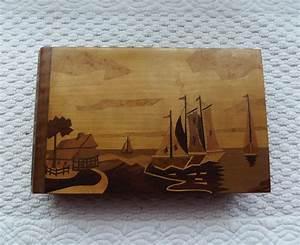Album Photo Ancien : ancien album photo marquetterie de bois decor bateau ebay ~ Teatrodelosmanantiales.com Idées de Décoration