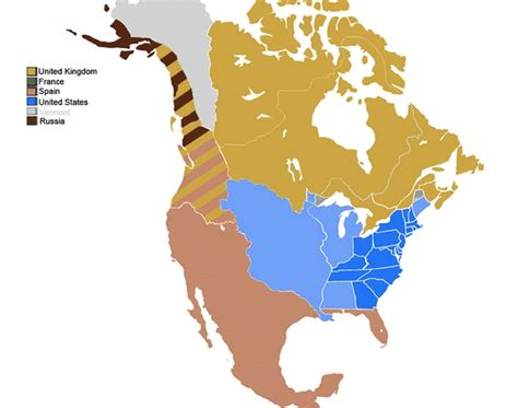 Visualizing North American Territorial Claims | America ...