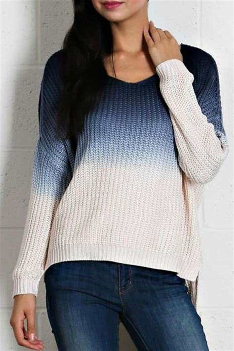 ombre sweater moon ombre sweater from jersey by gifted shoptiques