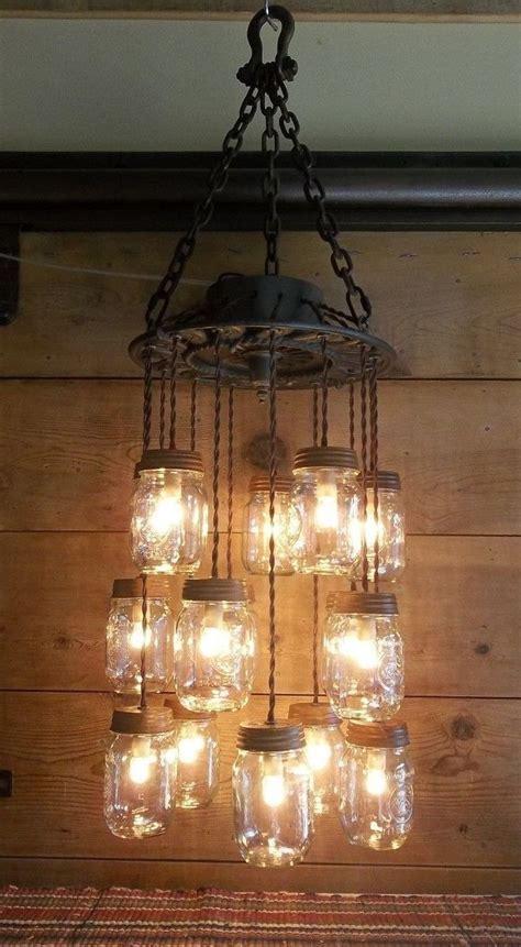 Best 25  Mason jar chandelier ideas on Pinterest   Mason
