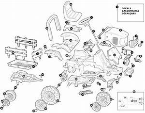John Deere 737 Parts Diagram
