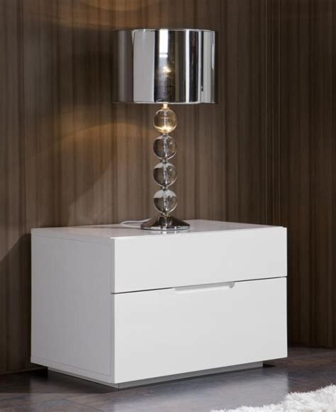 ideas  white gloss bedside table  pinterest apartment bedroom decor bedroom