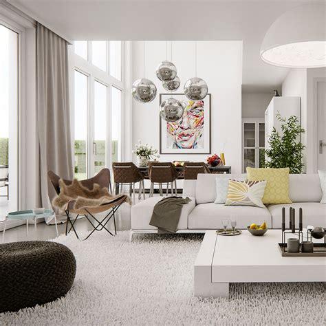 modern bright home design