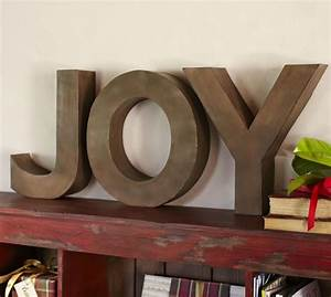joy letters pottery barn With pottery barn name letters
