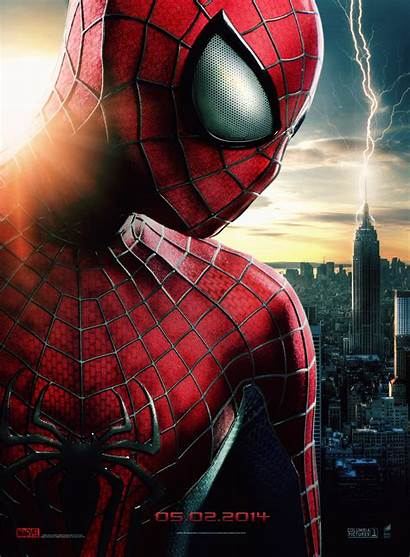 Spider Amazing Spiderman Poster 3d Film Wallpapers