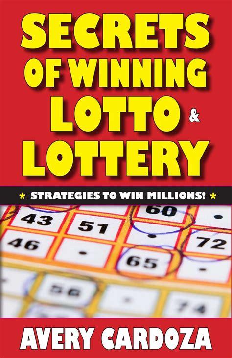 lottery lotto secrets winning win millions books cardoza avery games play canada beating