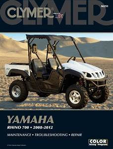 Yamaha Rhino 700 Side By Side Atv Utv  2008