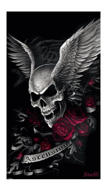 Skull Steffi Roses Skulls Gothic Tattoos Tattoo