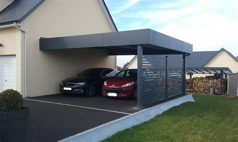 carport 2 voitures alu carport aluminium pr 233 au abri 224 deux voitures adoss 233 224