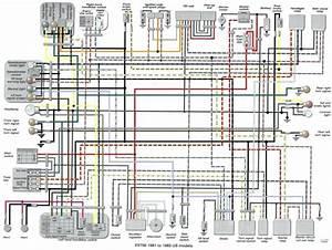 Virago 1000 Wiring Diagram