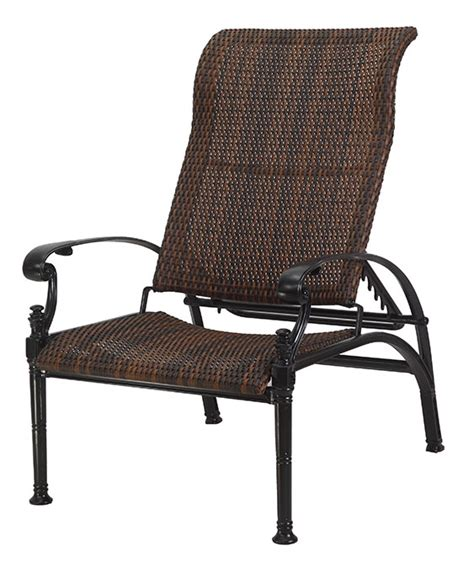 florence by gensun luxury wicker patio furniture reclining