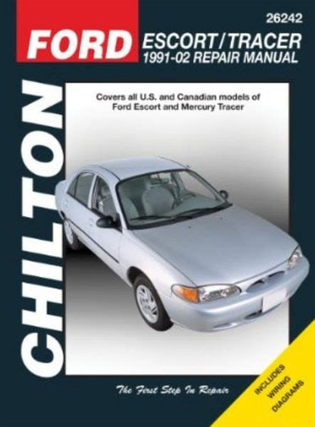 chilton car manuals free download 1988 mercury tracer lane departure warning ford escort mercury tracer chilton repair manual 1991 2002 hay26242