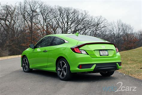 2017 Civic Coupe Review by 2017 Honda Civic Coupe Touring Review Web2carz