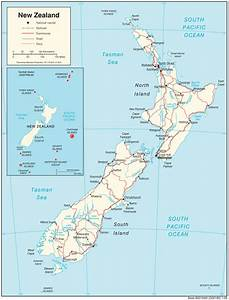 New Zealand Maps - Perry-casta U00f1eda Map Collection