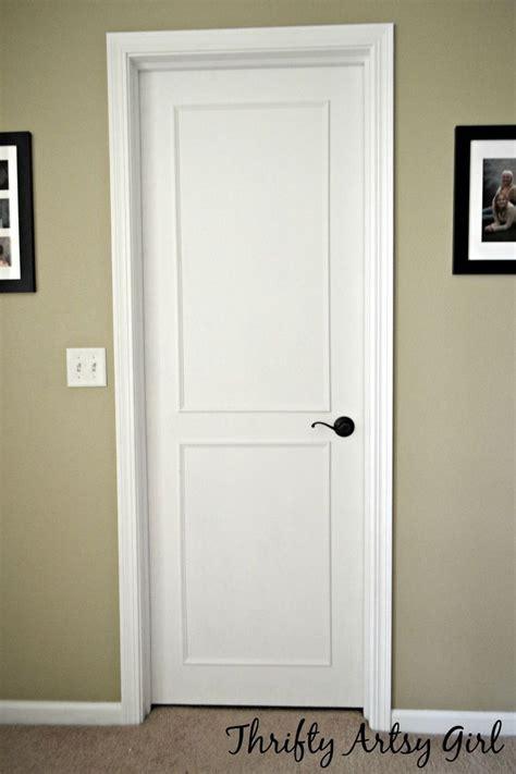 Door Makeover diy slab door makeover diy home decor door makeover