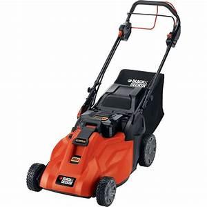 Black  U0026 Decker Cm1936za Cordless Electric Lawn Mower