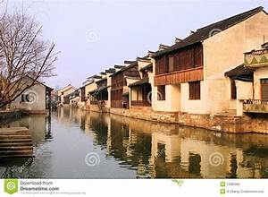 South China Village Landscapes Stock Photo - Image: 12963390