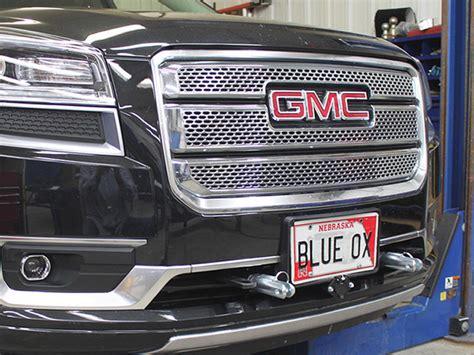 blue ox base plate bx    gmc acadia denali
