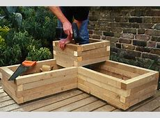 Creating a Wooden Planter gardenersworldcom