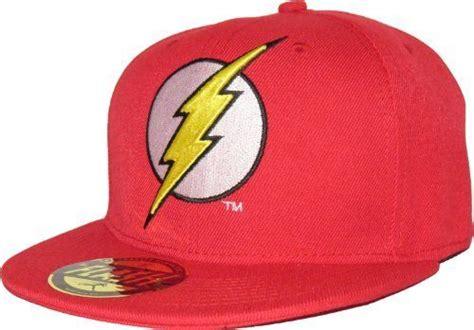 Dc Comics The Flash Logo Red Snapback Cap Price