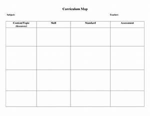 curriculum map template beepmunk With blank curriculum template