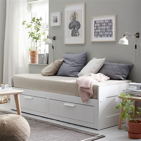 Day Beds With Drawers by Brimnes Day Bed Frame With 2 Drawers Ikea