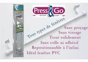 Tringle Rideau Extensible Autobloquante : tringle rideau sans percer tringle press and go ~ Premium-room.com Idées de Décoration