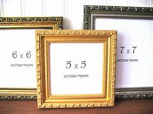 SQUARE FRAME Ornate Gilded Antique Gold & Silver Picture