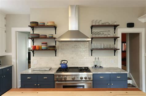 Kitchen Photo Backdrop by Kitchen Cabinets Or Open Shelves For Your Kitchen