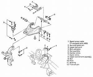 Diagram For Changing Brake On 1998 Isuzu Rodeo