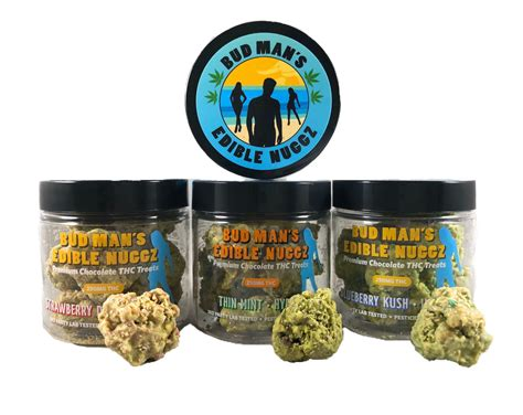Bud Man's Edible Nuggz 250mg Thc (award Winner