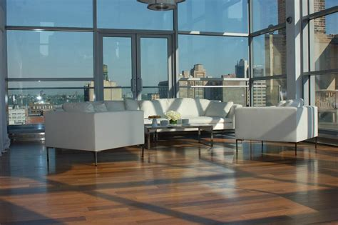 midtownhells kitchen furnished penthouse loft with